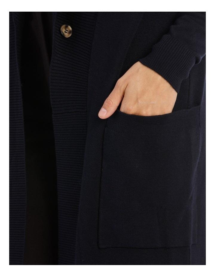 Peaked Collar Cardigan image 4