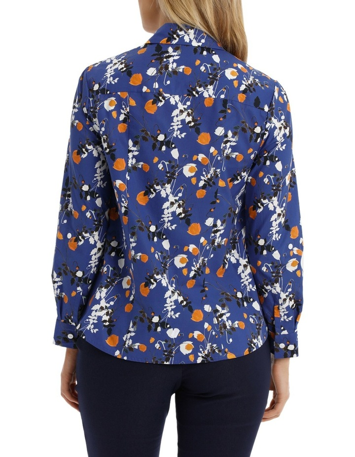 Liberty Print 3/4 Sleeve Shirt image 3