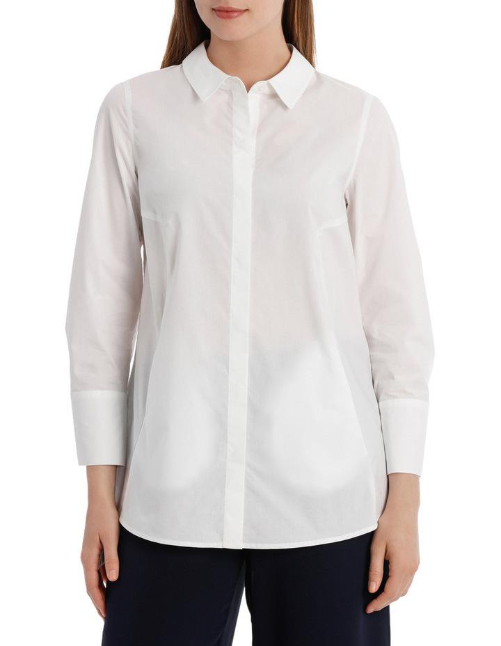 Longline 3/4 Sleeve Shirt image 1