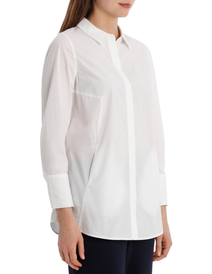 Longline 3/4 Sleeve Shirt image 2