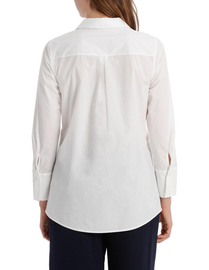 Longline 3/4 Sleeve Shirt image 3