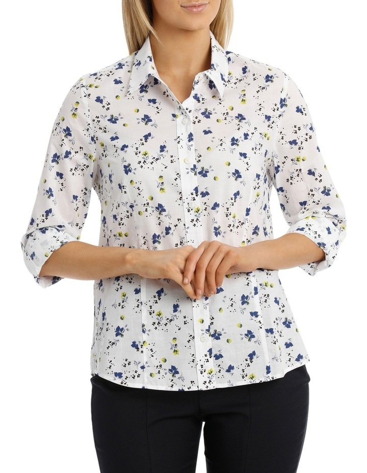 Small Floral Catherine Shirt image 1