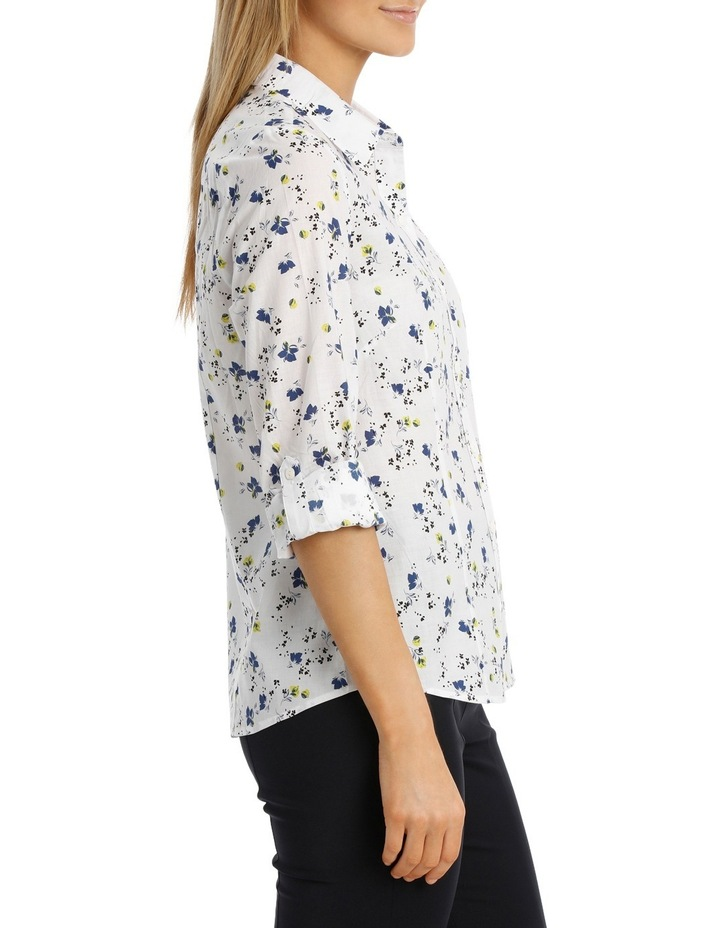 Small Floral Catherine Shirt image 2