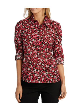 Trent Nathan - Rose Floral Catherine Long Sleeve Shirt
