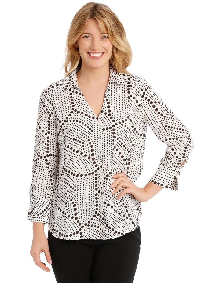 Printed Linen Shirt image 1