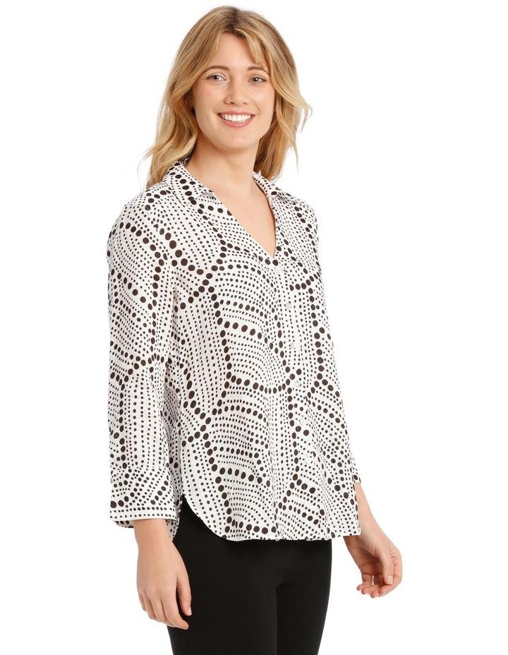 Printed Linen Shirt image 2