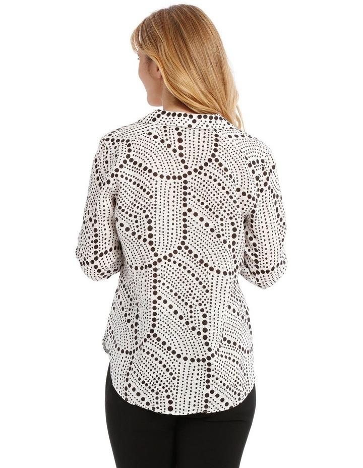 Printed Linen Shirt image 3