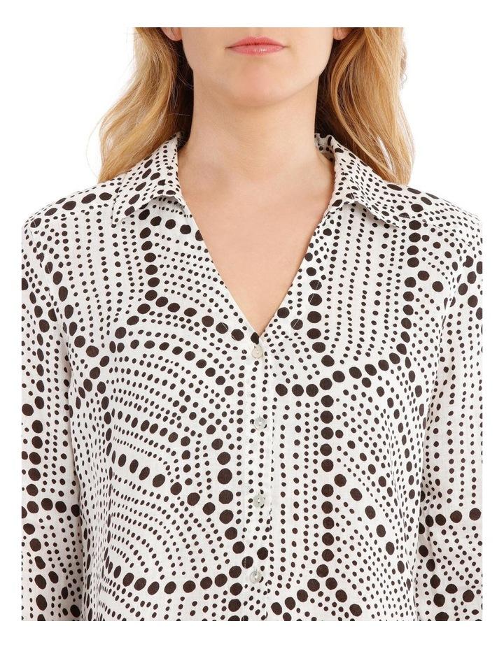 Printed Linen Shirt image 4