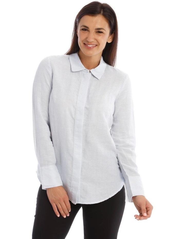 Linen Stripe Shirt image 1