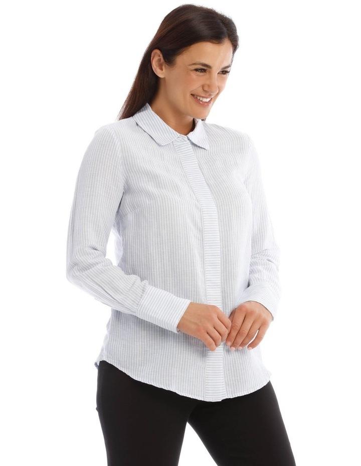 Linen Stripe Shirt image 2