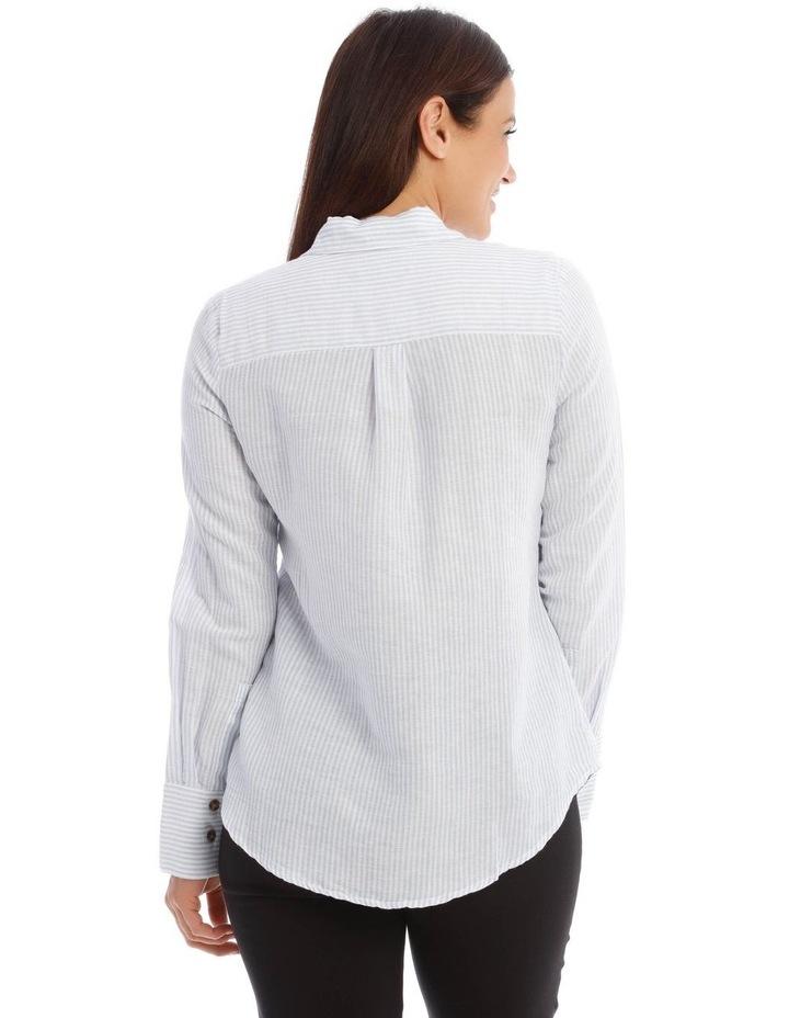 Linen Stripe Shirt image 3