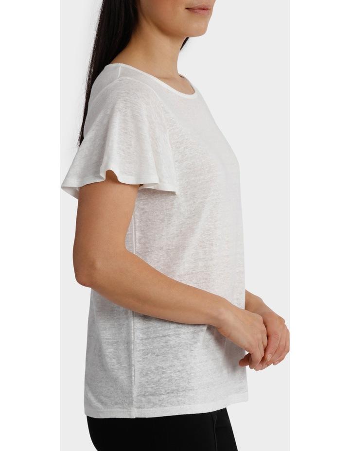 Linen Short Sleeve Tee image 2