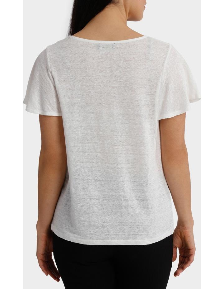 Linen Short Sleeve Tee image 3