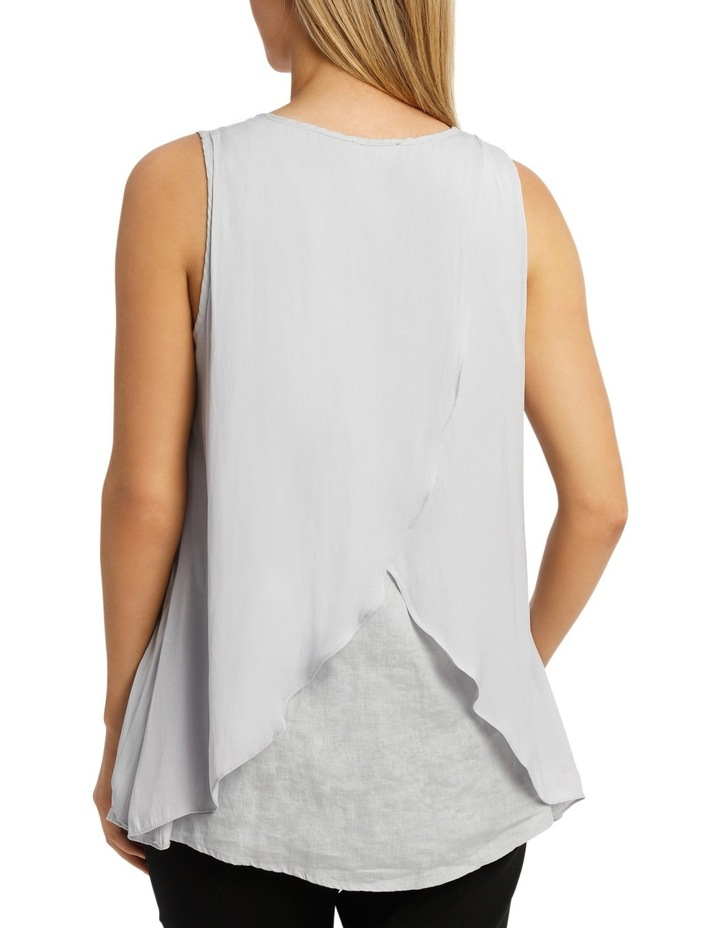 Double Layer Linen Top image 3