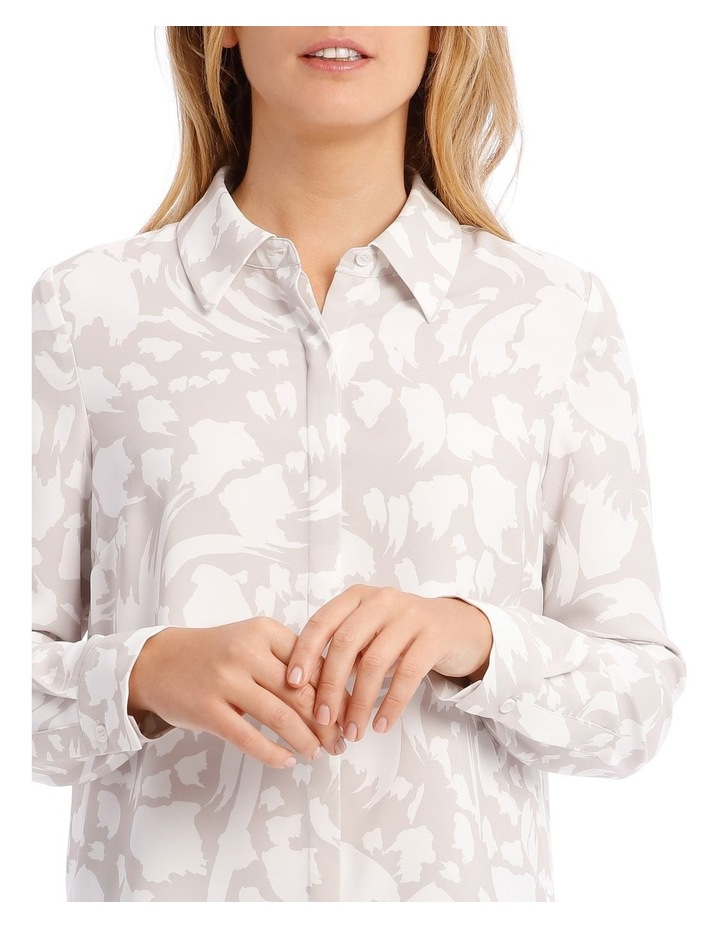 Printed Long Sleeve Top image 4