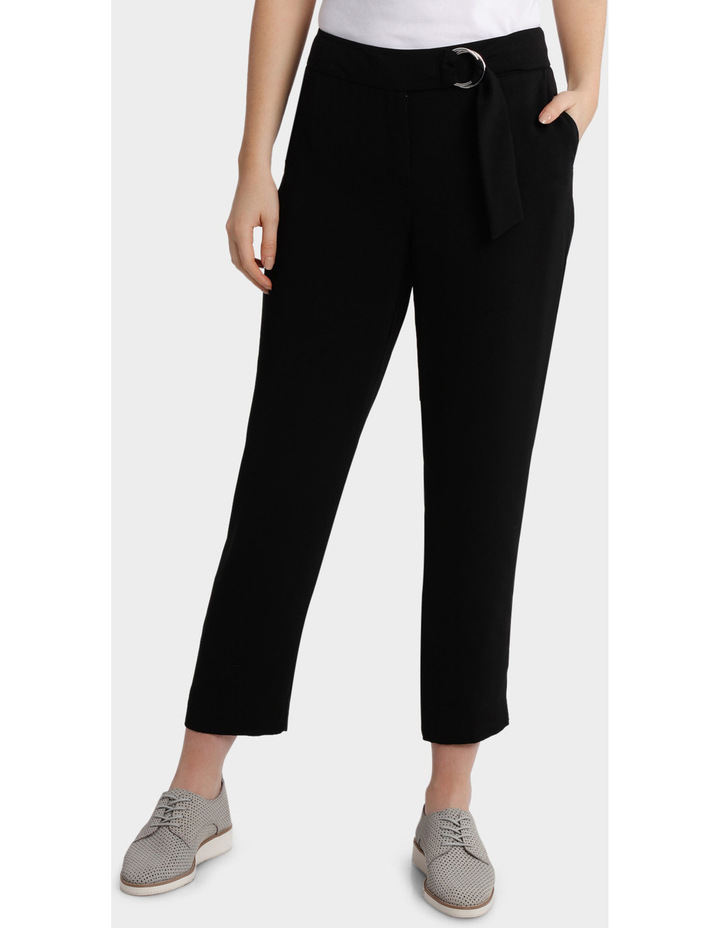 D Ring Belted Soft Pant image 1