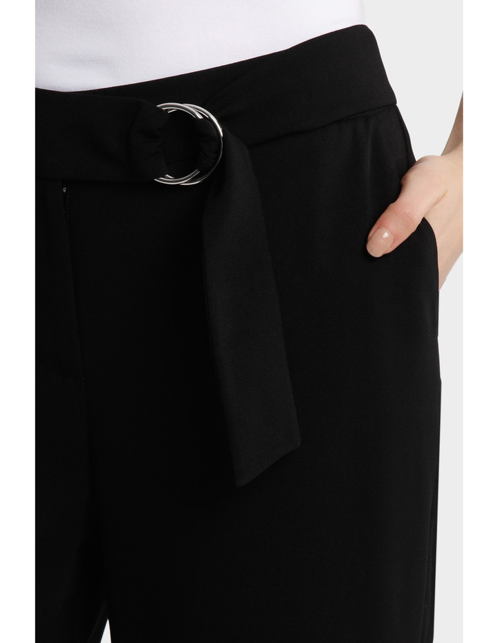 D Ring Belted Soft Pant image 4