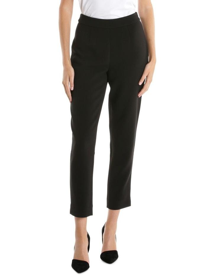 Black Side Zip Pant image 1