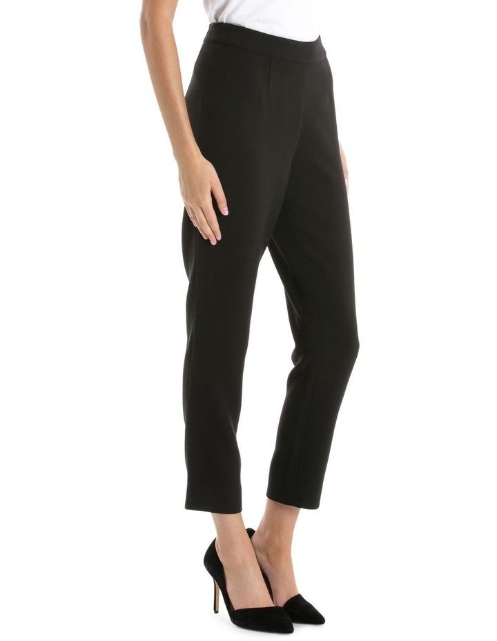 Black Side Zip Pant image 2