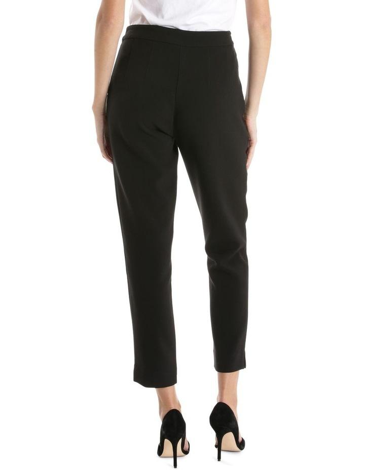 Black Side Zip Pant image 3