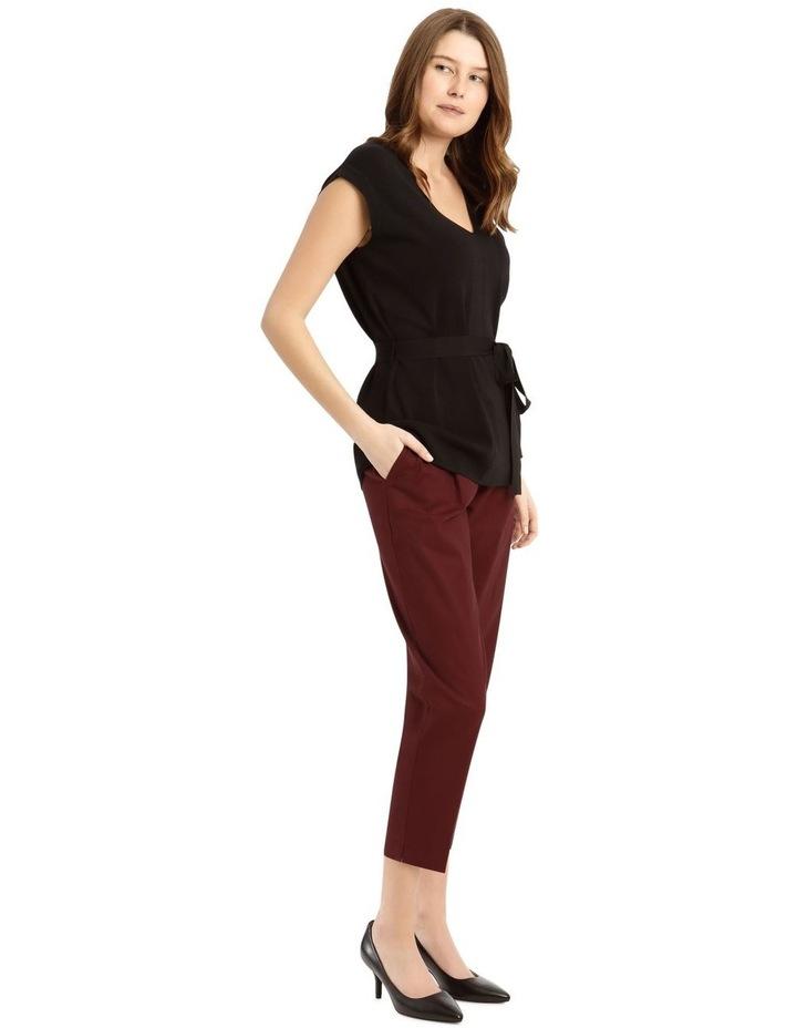 Straight Leg Side Split Pant image 2