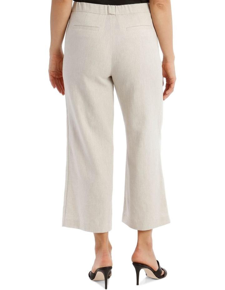 Wide Leg Cropped Pant image 3