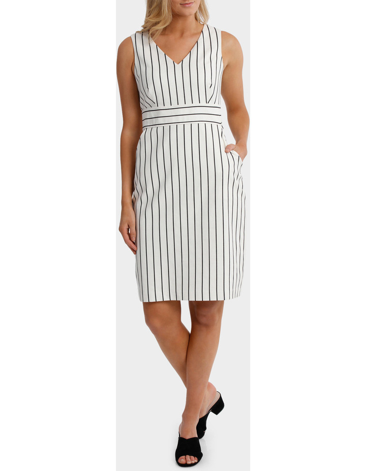 Stripe Textured Dress image 1