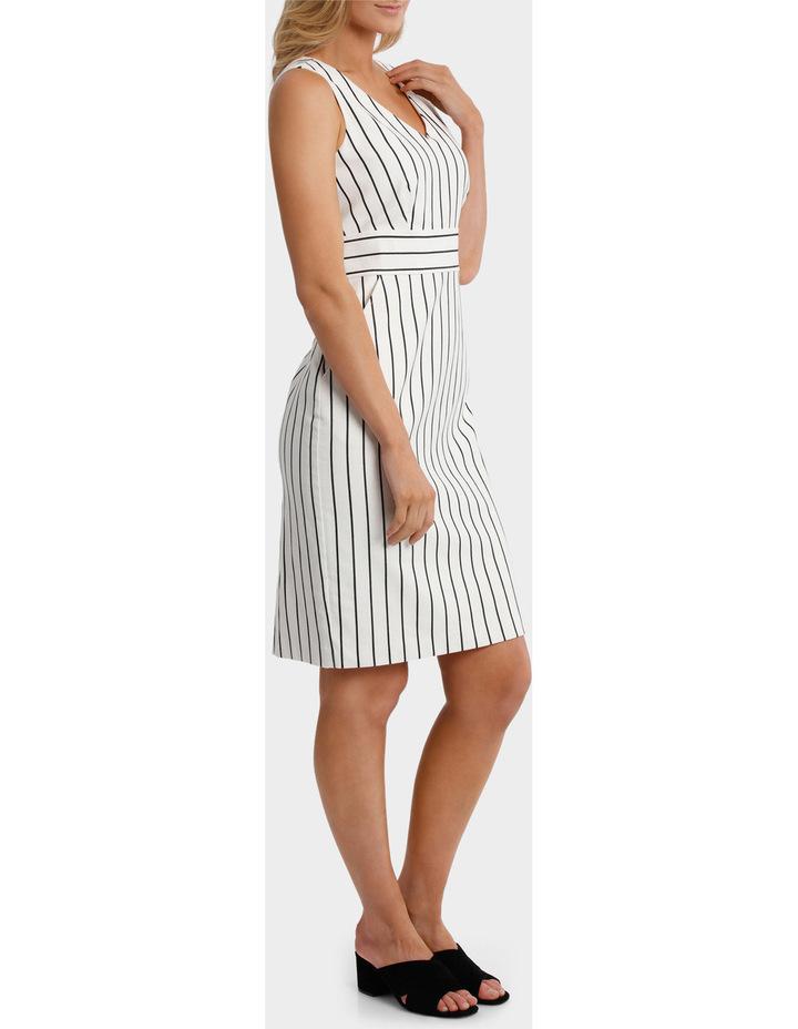 Stripe Textured Dress image 2