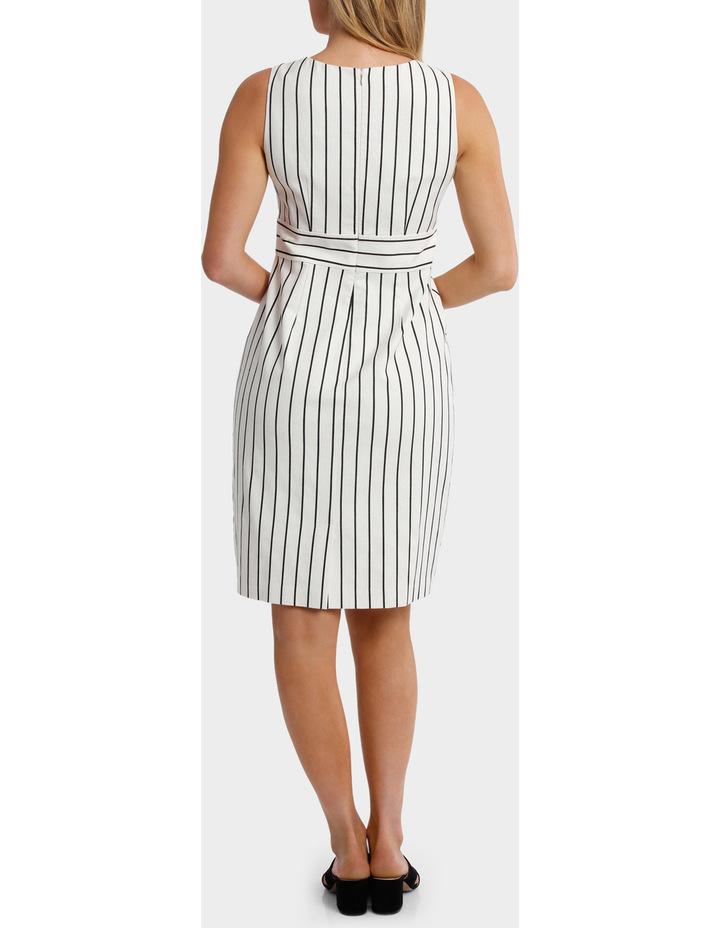 Stripe Textured Dress image 3