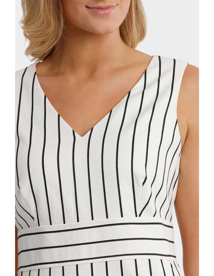 Stripe Textured Dress image 4