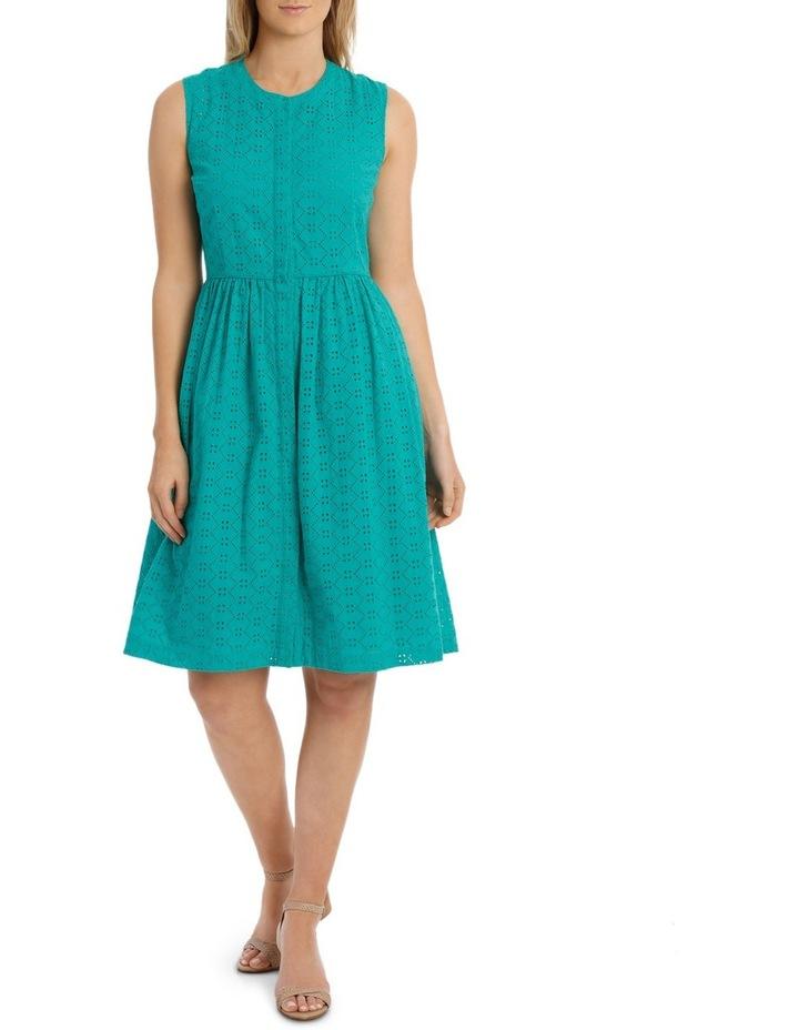 Broderie Sleeveless Dress image 1