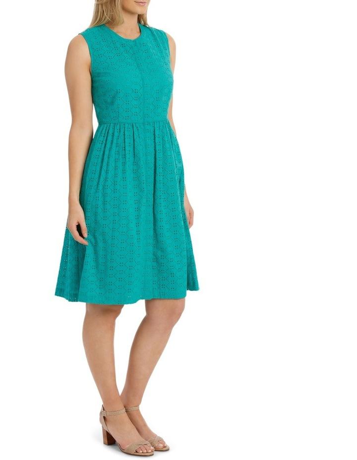 Broderie Sleeveless Dress image 2