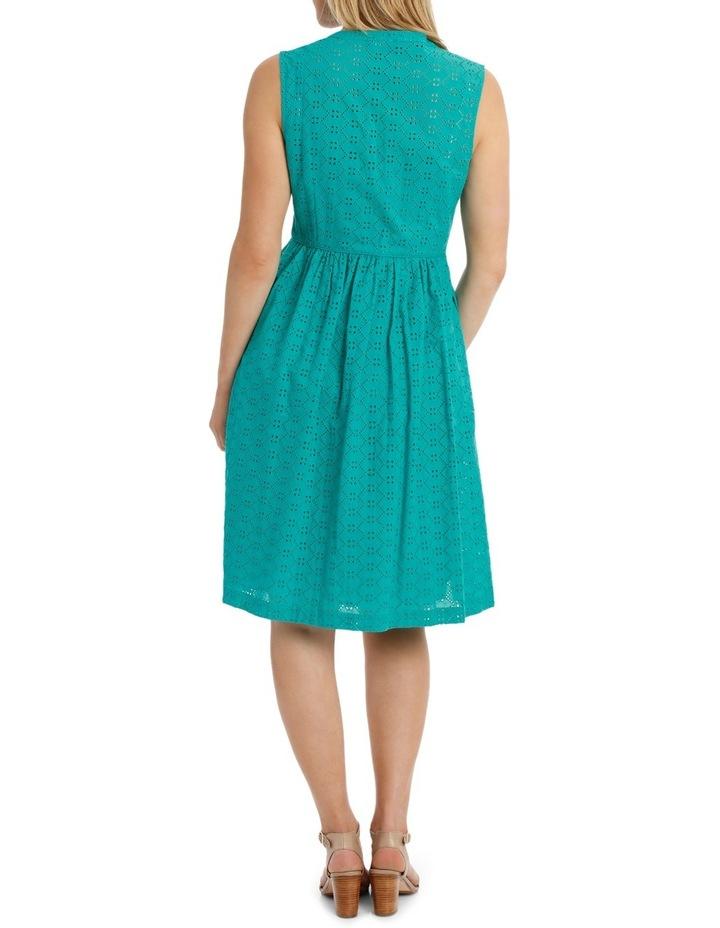 Broderie Sleeveless Dress image 3