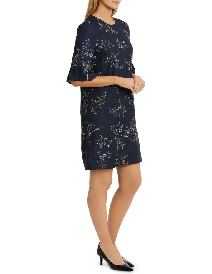 Frill Sleeve Floral Bunch Dress image 2