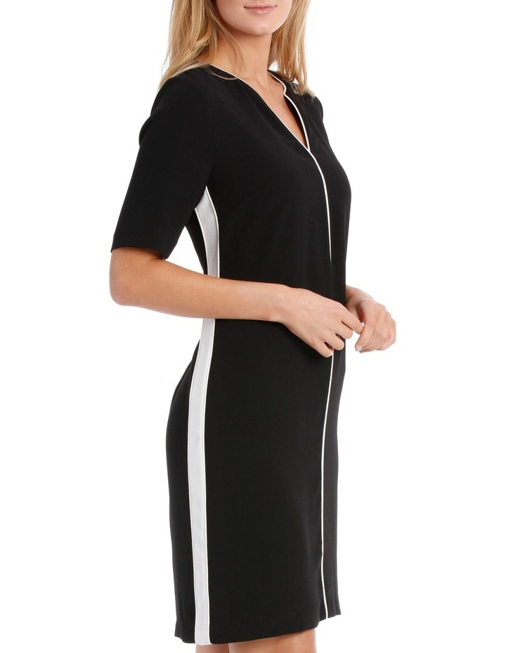 PIPED TUNIC DRESS image 2