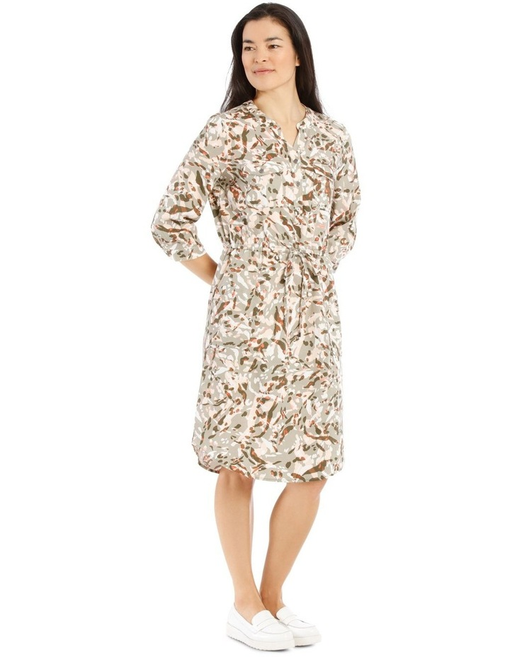 Shirt Dress With Patch Pockets image 2