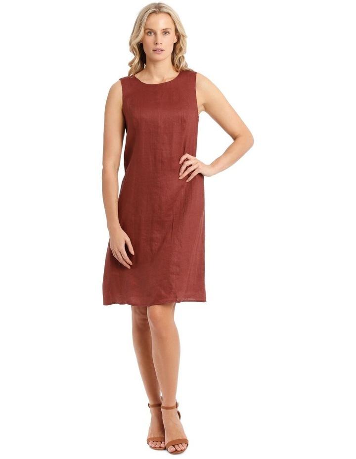 Structured Linen Dress image 1