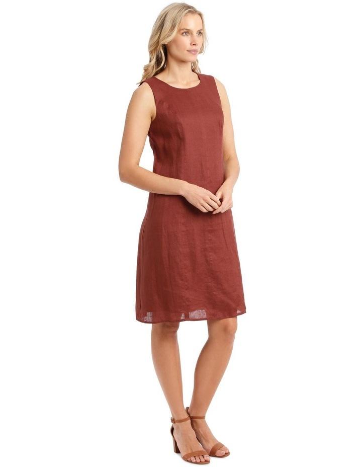 Structured Linen Dress image 2