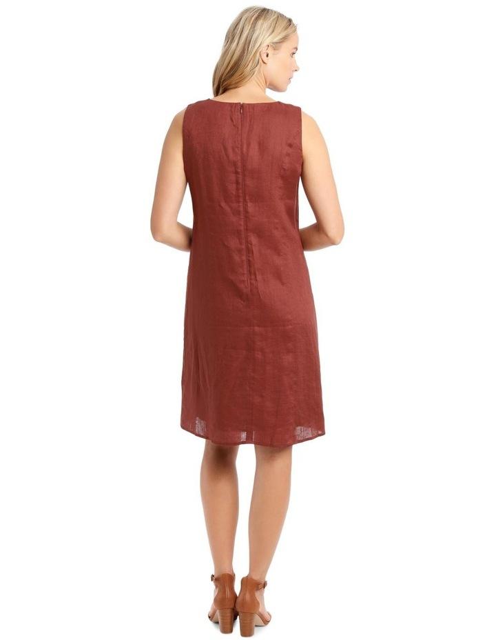 Structured Linen Dress image 3