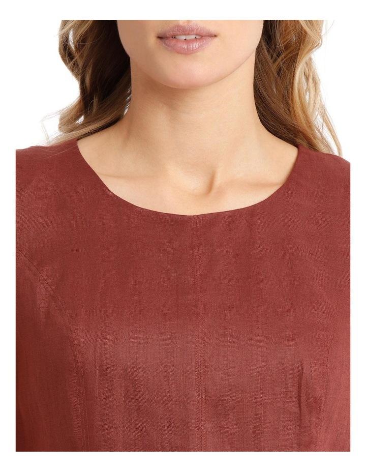 Structured Linen Dress image 4