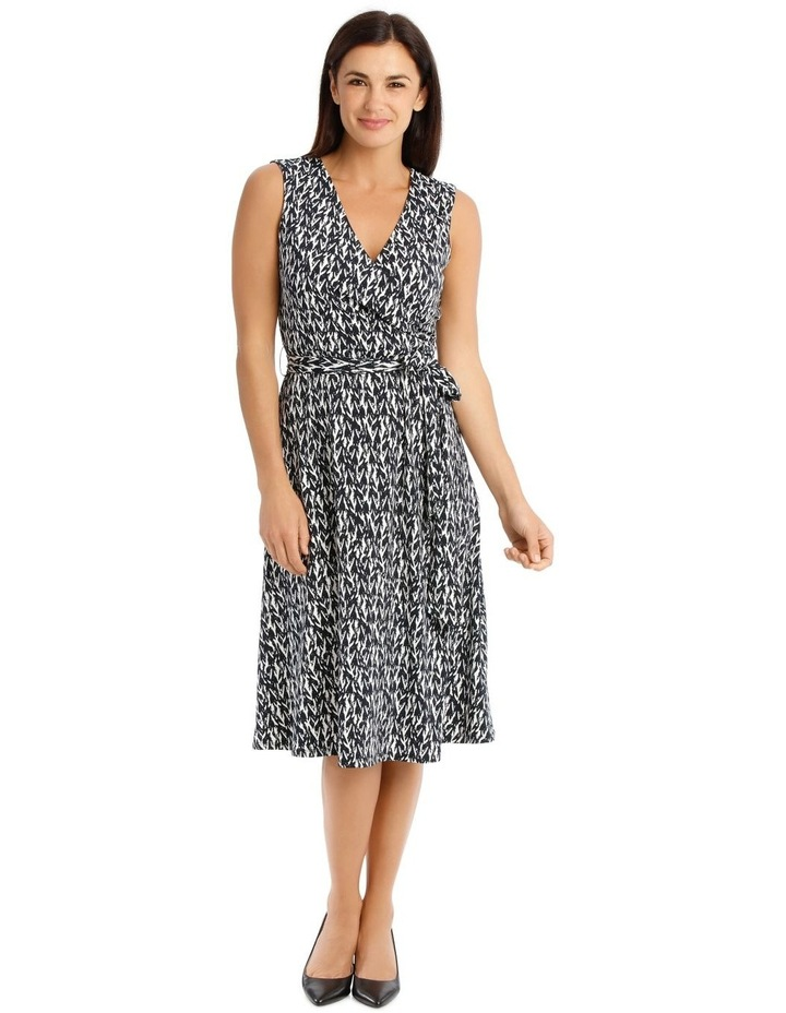 Tie Waist Jersey Dress image 1