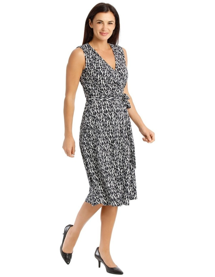 Tie Waist Jersey Dress image 2