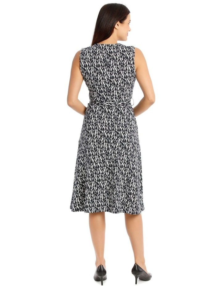 Tie Waist Jersey Dress image 3