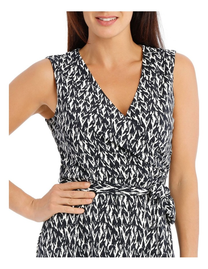 Tie Waist Jersey Dress image 4
