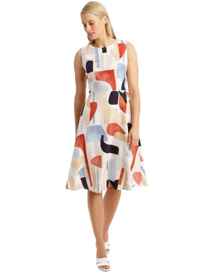 Printed Linen Dress image 1