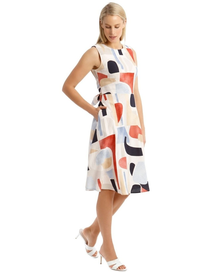 Printed Linen Dress image 2