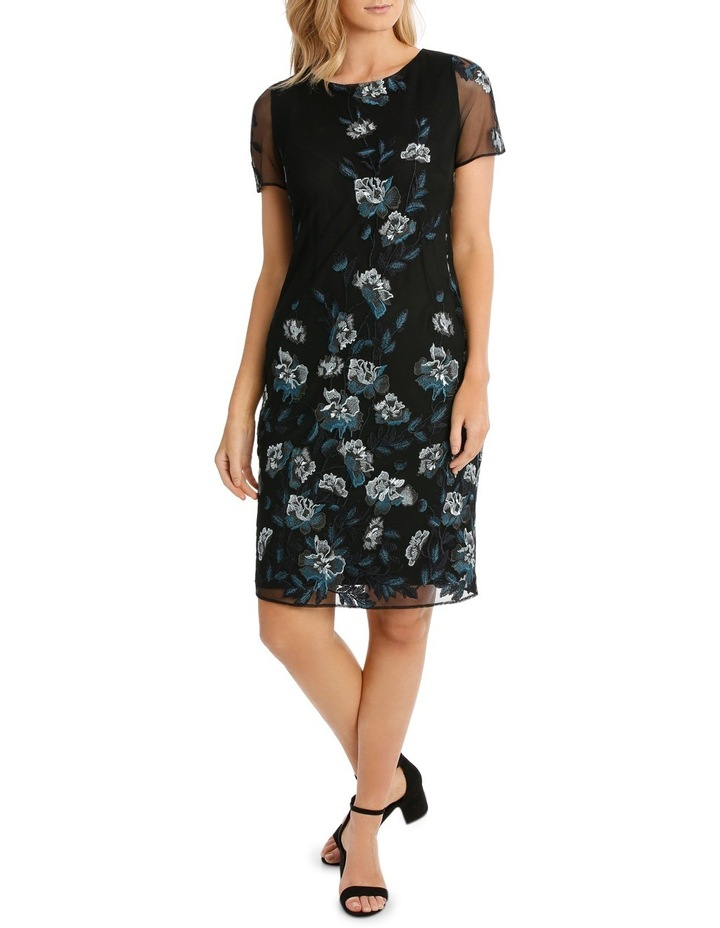 Floral Mesh Lace Dress image 1