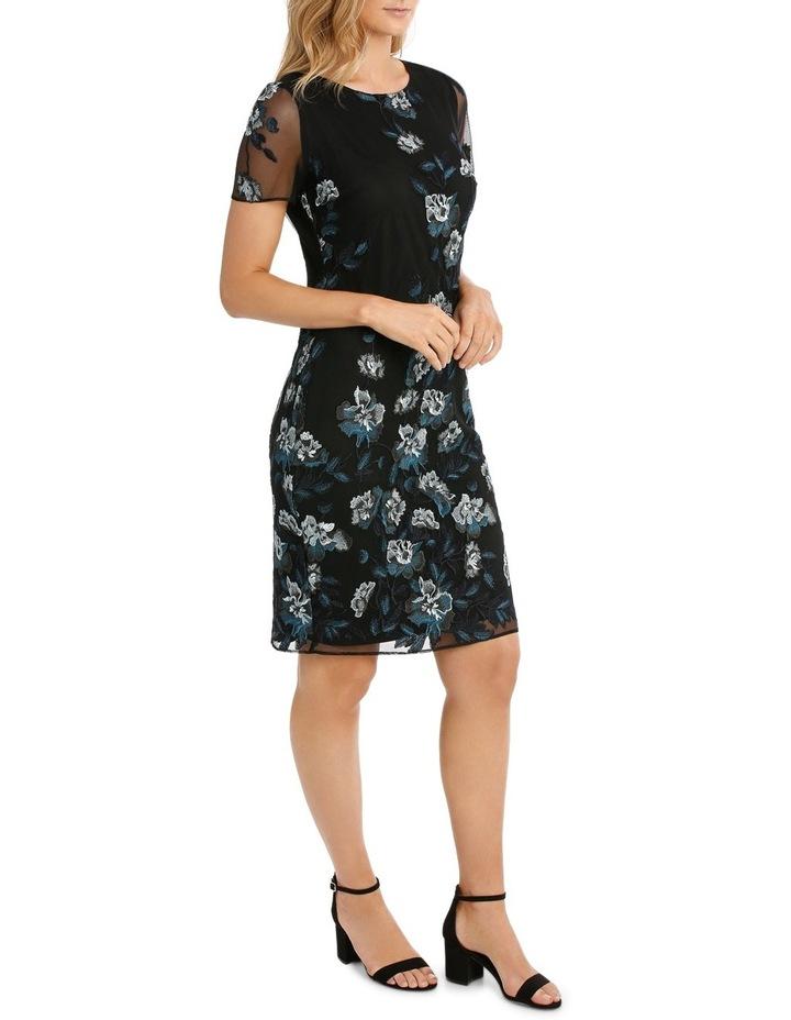 Floral Mesh Lace Dress image 2