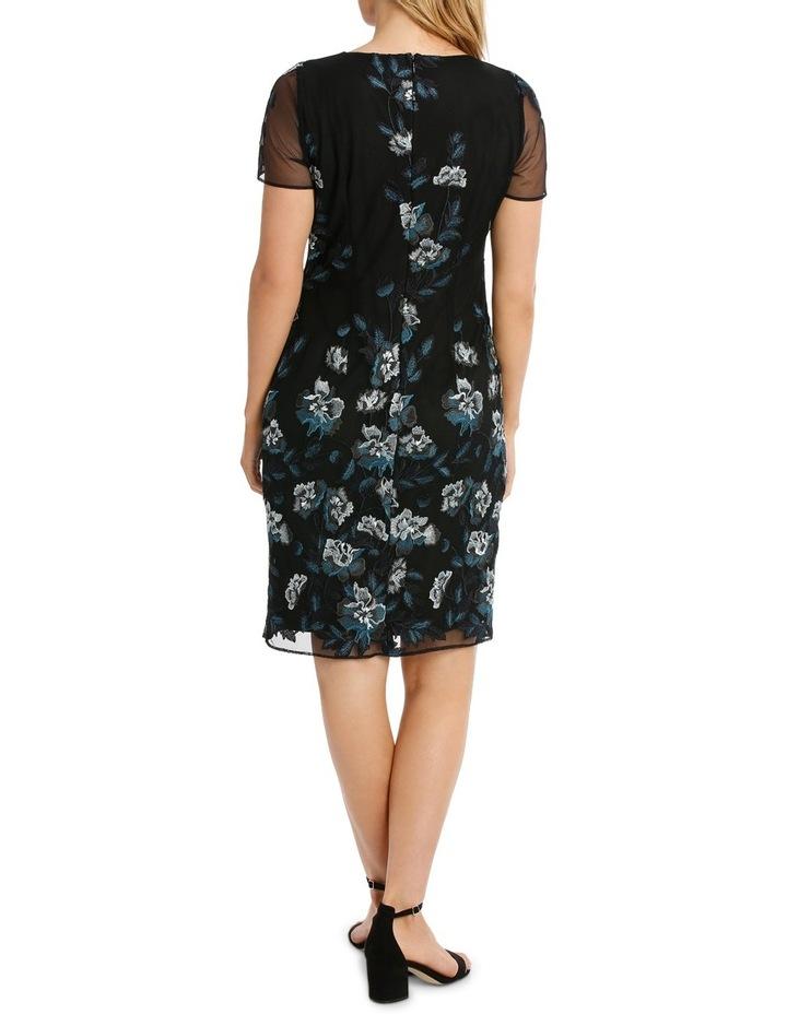 Floral Mesh Lace Dress image 3