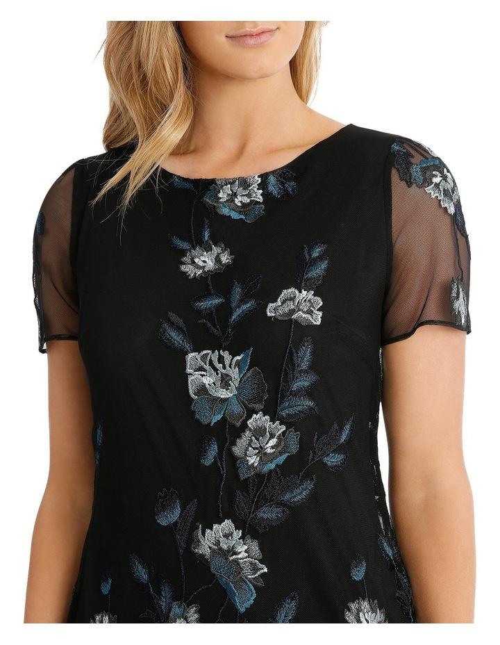 Floral Mesh Lace Dress image 4